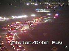 Ferguson protesters block Durham Freeway