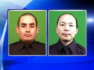 NYC police officers Rafael Ramos and Wenjian Liu