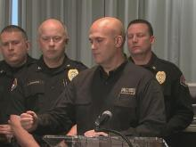 Wake Forest police news conference
