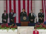 Wreath-laying ceremony at Arlington National Cemetery