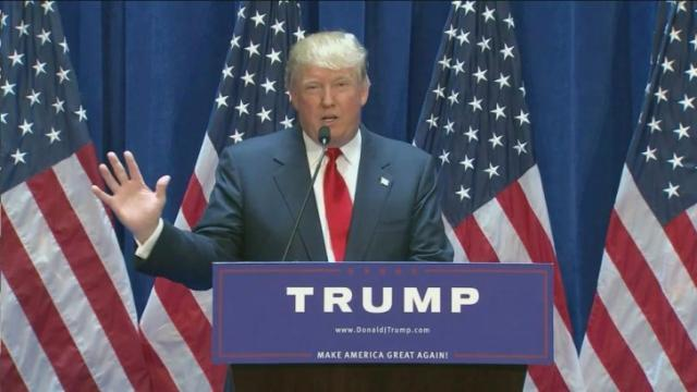Billionaire businessman, developer and reality show host Donald Trump announced Tuesday that he would join the growing field of candidates for president.