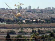 A view over Jerusalem