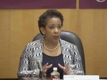 AG Loretta Lynch discusses civil rights at NCCU