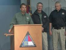 McCrory: NC avoids 1-2 punch, flooding still a threat