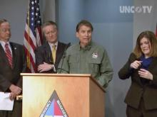 McCrory: Stay off roads if possible