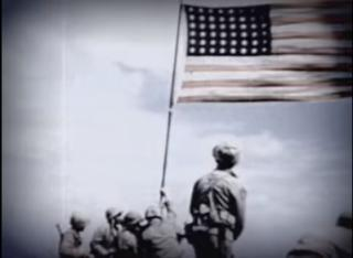 """After a month of investigation, the U.S. Marine Corps has confirmed it misidentified one of the men in a Pulitzer Prize-winning photo of the flag raising over Iwo Jima, debunking a popular memoir, """"Flags of Our Fathers."""" (Deseret Photo)"""