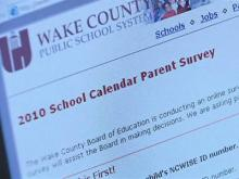 Wake schools seeks feedback on year-round schedule