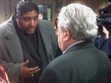 Rev. William Barber meets Ron Margiotta
