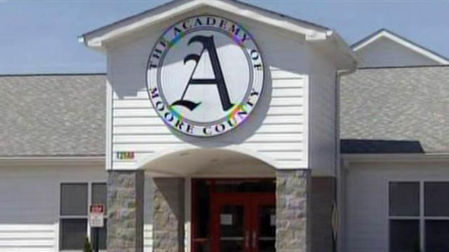 The Academy of Moore County opened in 1997 and serves students in kindergarten through eighth grade.