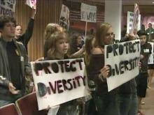 Opponents jeer as Wake School Board ends diversity policy