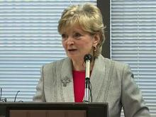 State Board of Education Superintendent June Atkinson