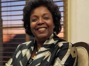 Irma McClaurin (Image from Shaw University website)