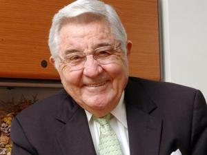 Former UNC President Bill Friday in 2005 (Photo courtesy of UNC-Chapel Hill)