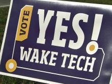 Voters will decide fate of Wake Tech's $200M bond request