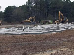Hoke County Schools is building an apartment complex in Raeford to help attract and retain teachers. The $2.4 million project on Teal Drive will include 24 two-bedroom apartments.