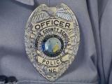 Moore County Schools police badge