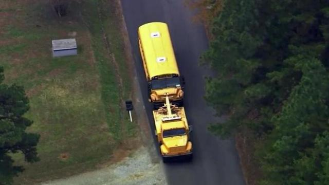 Four children were injured after two buses from Pathways Elementary School crashed in Hillsborough on Nov. 5, 2013.