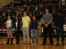 The Triangle Educational Advancement Foundation awarded 10 $5000 scholarships to students from area public high schools. The awards are funded by ticket sales at the HighSchoolOT Holiday Invitational.