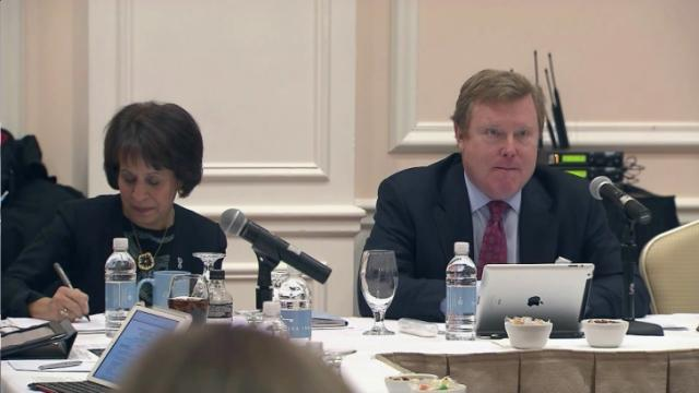 UNC-Chapel Hill Board of Trustees meeting