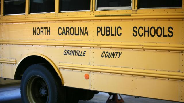 Granville County school bus