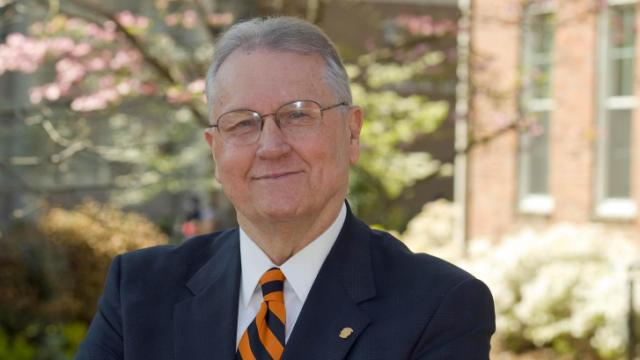 Campbell University President Jerry Wallace