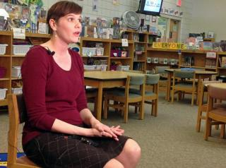 Vance Elementary School teacher Mindy King.