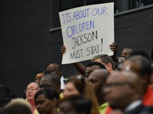 Supporters rally behind Nash-Rocky Mount superintendent following resignation
