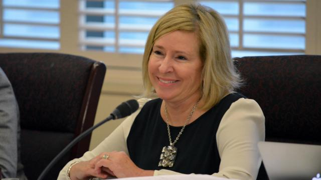 State Board of Education member Becky Taylor