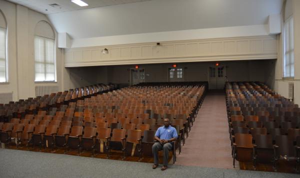 West Edgecombe Middle School's auditorium