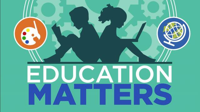 Education Matters aims to provide the public with real facts about the state of public education in North Carolina. The weekly television show will explore everything from the history of public education to the impact of legislation and policy decisions on our public schools.