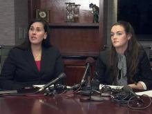 Web only: UNC student's news conference about alleged rape