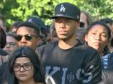 Students in Triangle in solidarity with Queen City