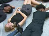 Students rally, march, grieve Charlotte shooting