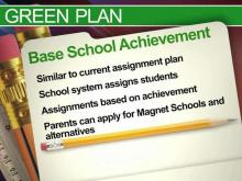 Wake schools 'green' assignment plan