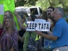 Wake school board meets as parents rally to keep Tata