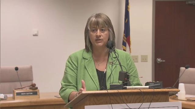 Wake County Public School System Interim Superintendent Cathy Moore