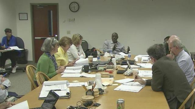 Wake school board committee meeting