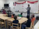 Mandarin class at Poe Elementary School