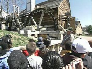 Fifth-graders at Ferryway School, a math, science and technology magnet school in Malden, Mass., enjoyed a field trip to Saugus Ironworks National Historic site. First, they had to complete a 6-week-long interdisciplinary, technology-driven project.