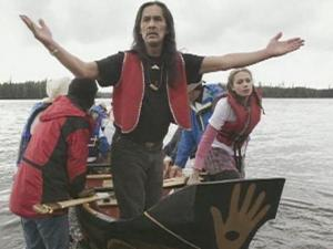 Carving Cultural Connections founder Sadduts Peele, a master Native American carver, taught seventh graders at Seattle's Alternative School 1 how to carve a traditional voyaging canoe.
