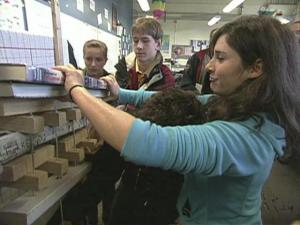 Aviation High School is near Seattle's airport, and science teacher Scott McComb used that as an inspiration for his project for his class full of freshmen.
