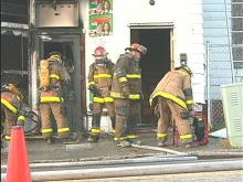 Downtown Raleigh Grocery Store Burned