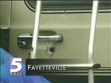 Fayetteville Police Searching For Van Shooting Suspects