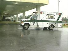 Wake County EMS ambulance