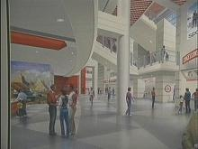 Artist's rendering of proposed arena.