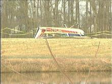 Plane Crashes Near Garner
