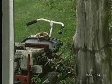Woman Killed While Mowing Lawn
