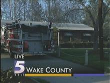Wake County Fire Causes Evacuation of 12 Homes