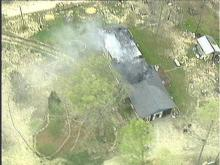House Near Rolesville Destroyed by Fire
