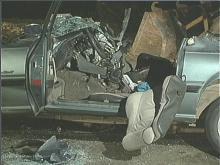 Raleigh wreck scene